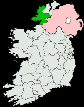 Donegal South-West (Dáil Éireann constituency) - Image: Donegal South West (Dáil Éireann constituency)