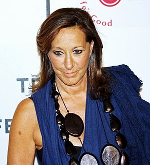 Donna Karan at the premiere of I Am Because We...