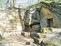Donndorf - Fantaisie Schlosspark - Strohhütte 02 (15.04.2007).jpg