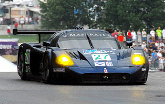 Maserati MC12 - Doran Racing's MC12 GT1 at Road America in 2007.