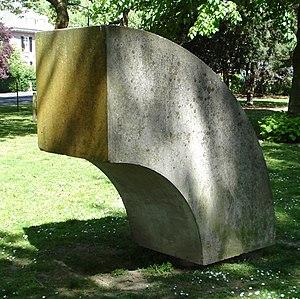 Ad Dekkers (artist) - Image: Dordrecht kunstwerk een kwart circel