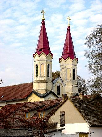 Doroslovo - Church of Mother of God Helper of Christians near Doroslovo.