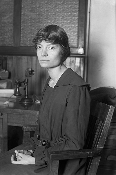 Dorothy Day, American Christian anarchist and anarcho-pacifist