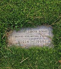 Dorothy Lamour Grave.JPG