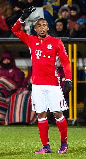Douglas Costa - Douglas Costa with Bayern Munich in 2016