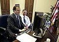 Dr. Mark McClellan and Scott McClellan host Ask the White House.jpg