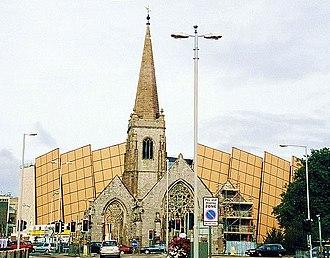 Drake Circus Shopping Centre - Image: Drake Circus behind Charles Church