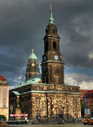 Kreuzkirche, Dresden - Dresden Kreuzkirche (2008)