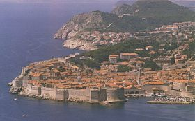 Dubrovnik látképe