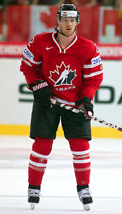 Duncan Keith - Switzerland - Canada, 29 April 2012.jpg