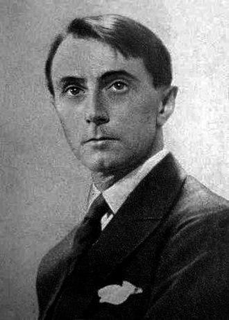 Louis Durey - Portrait of Louis Durey in 1930