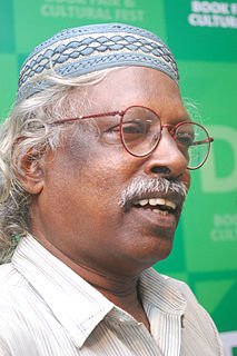 D. Vinayachandran Indian poet