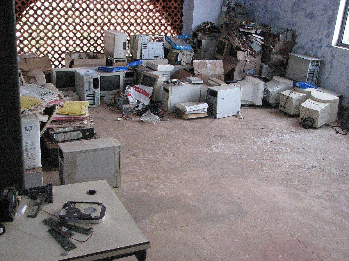 electronic waste simple english the encyclopedia