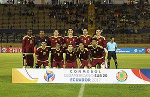 Sergio Córdova - Córdova (far left) at the 2017 FIFA U-20 World Cup.