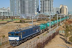 EF64 1046 abolished Takashima Station 20131205.jpg