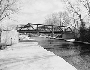 National Register of Historic Places listings in Big Horn County, Wyoming - Image: EJE Bridge over Shell Creek