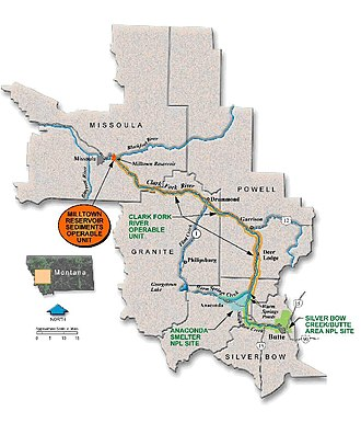 Milltown Reservoir Superfund Site - The Clark Fork River Operable Unit.