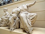 East P. of the Parthenon 04-05. Demeter and Kore - casting in Pushkin museum 01 by shakko.jpg