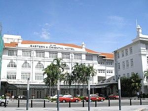 Eastern & Oriental Hotel - Image: Eastern & Oriental Hotel Penang Dec 2006 004