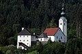 Ebenthal Gurnitz Propstei und Pfarrkirche hl Martin 14072006 02.jpg
