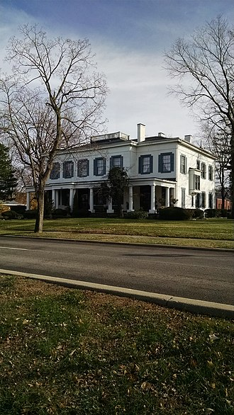 Eden Thirkfield Home - The Eden Thirkfield home as it stands today in downtown Franklin.