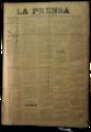 Edición Nro. 1 del Diario La Prensa de Salto, el 17 de Octubre de 1888.png