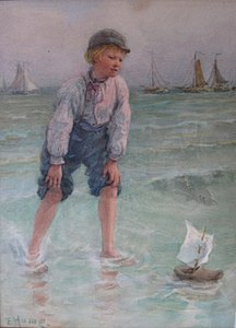 Edith Dunn - hume- dads boat wb.JPG