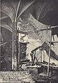 Eerste proef over de reconstructie van een iguanodon in 1880.jpg