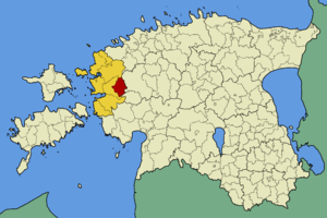 Kullamaa Parish - Image: Eesti kullamaa vald