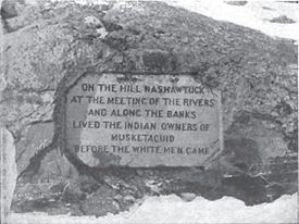 Egg Rock Inscription