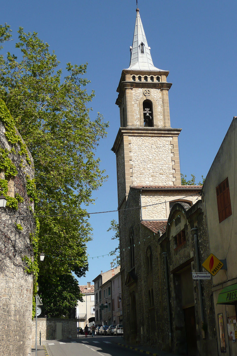 Eglise à La Roque d'Anthéron v.JPG