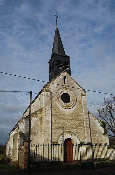 Eglise Saint-Martin de Froidmont-Cohartille