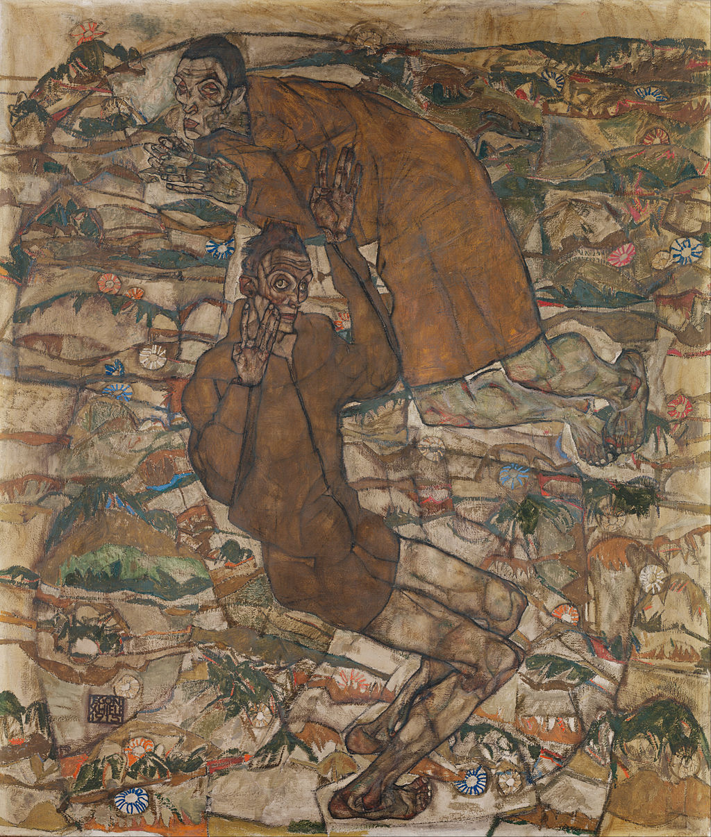 Egon Schiele - Levitation (The Blind II) - Google Art Project