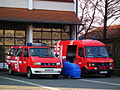 Einsatzfahrzeuge freiwillige Feuerwehr Schriesheim Januar 2012.JPG