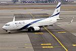 El Al, 4X-EKP, Boeing 737-8Q8 (24661744802).jpg