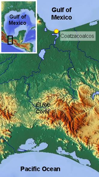 El Corte River - Image: El Rio Corte