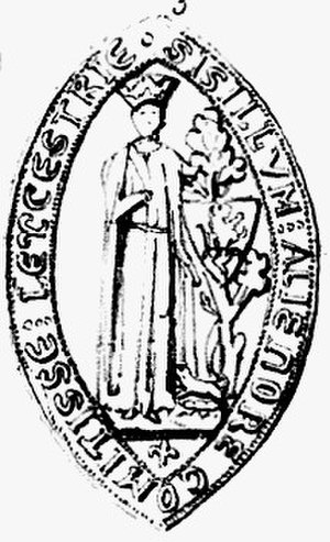 Eleanor of Leicester - Eleanor's seal as Countess of Leicester