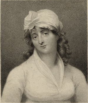 Elizabeth Inchbald - by Samuel Freeman, 1807