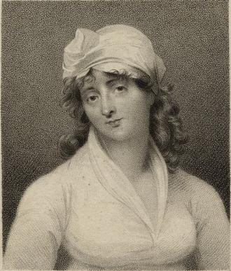 Elizabeth Inchbald - by Samuel Freeman, 1807