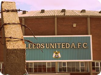 The Damned United - Alterations to Elland Road for filming.