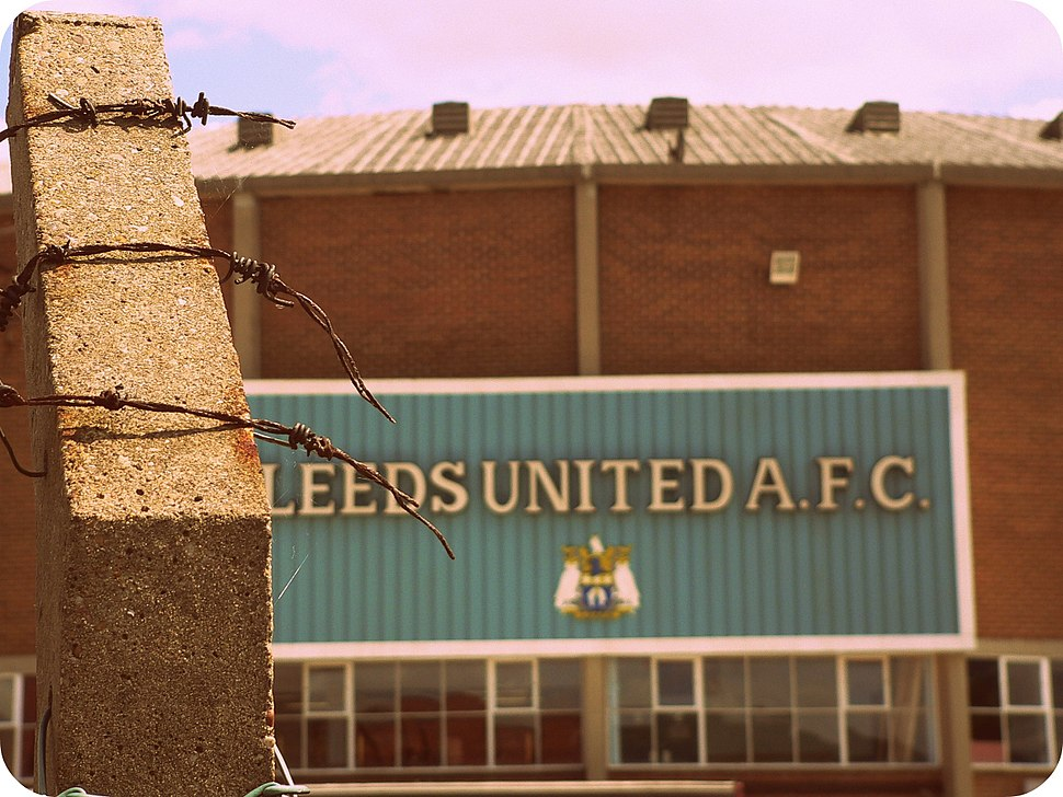 Elland Road, West Stand as it was made to look for the Damned United