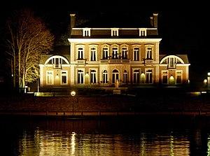 Elysette Namur Belgium, by night