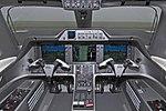 Embraer Phenom 100 cockpit (45 (R) Squadron).jpg