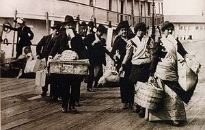 Italian Colombian - Italian Immigrants arriving in Colombia