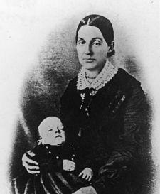 Emma Hale Smith Bidamon c. 1844