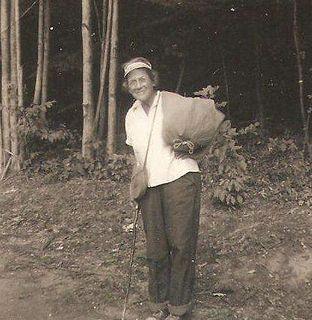 Grandma Gatewood American walker