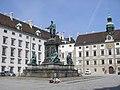 Emperor Franz I monument Vienna June 2006 304.jpg