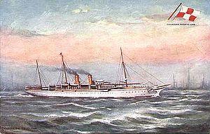 RMS Empress of China (1890) - Image: Empress of China 1891