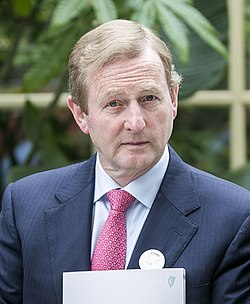 Enda Kenny at Connecting for Life launch (2015, cropped).jpg