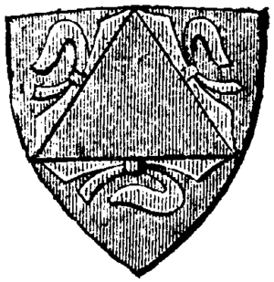 Engelbrekt Engelbrektsson - Family coat of arms from Nordisk familjebok